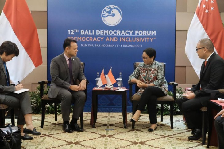 Indonesia, Singapore discuss ways to strengthen human rresources