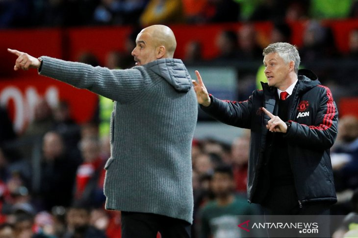 Solskjaer masih anggap Man United lebih besar dari Man City