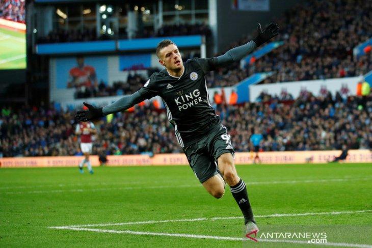Leicester rengkuh kemenangan kedelapan beruntun Liga Inggris