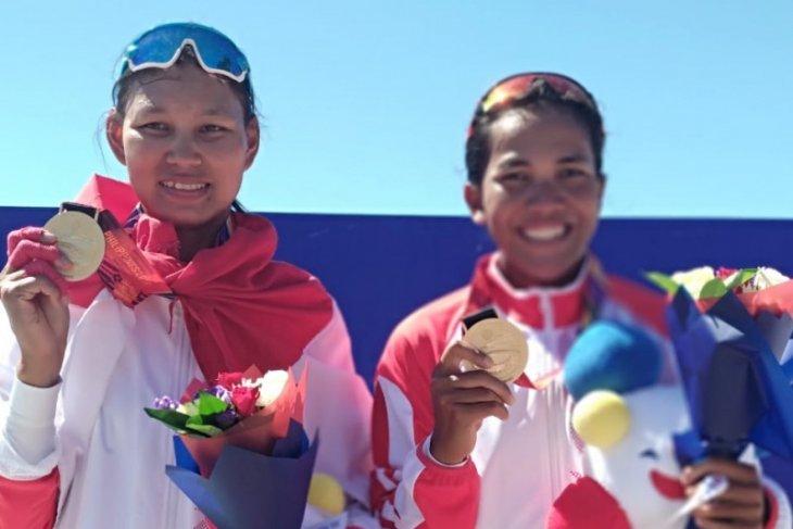Yayah dan Julianti raih emas rowing lightweight pair schuls