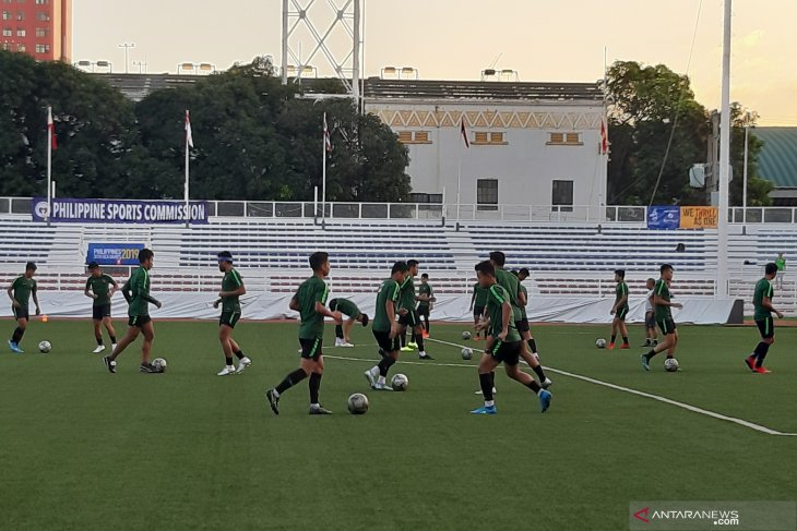 Final SEA Games, adu strategi demi mimpi di Stadion Rizal Memorial, Manila