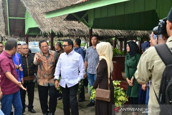 Wali Kota Padangsidimpuan apresiasi kunjungan KSP Moeldoko