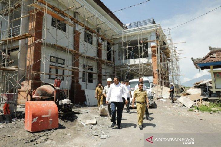 Bupati Gianyar tinjau langsung  beberapa proyek pembangunan