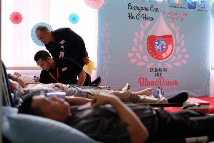 Jasa Raharja Kalbar gelar kegiatan donor darah