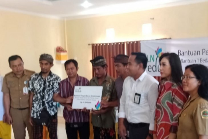 PLN Bali bedah rumah masyarakat miskin di Gianyar