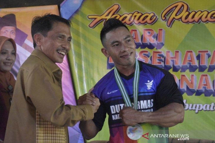 Bupati Gorontalo kukuhkan Duta Germas dalam rangkaian HKN