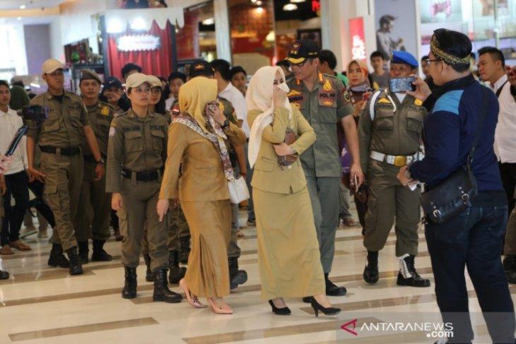 Setidaknya 65 ASN terjaring razia di mal Palembang