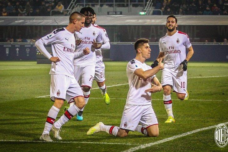 AC Milan lanjutkan tren kemenangan pukul Bologna 3-2