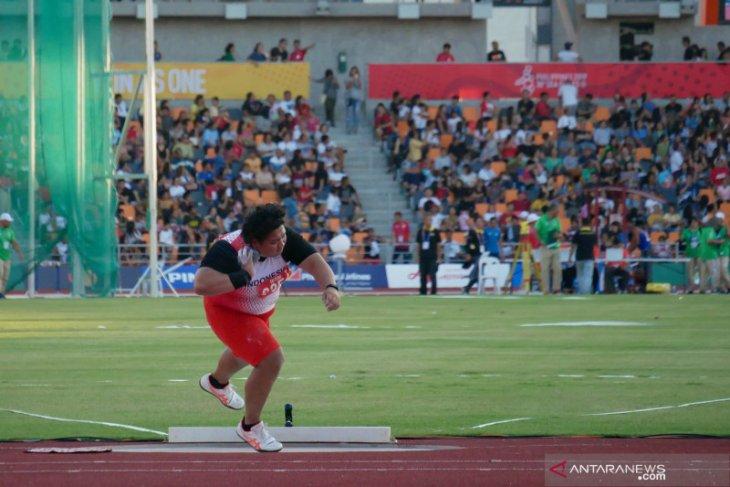 Atlet Eki gagal pertahankan emas tolak peluru