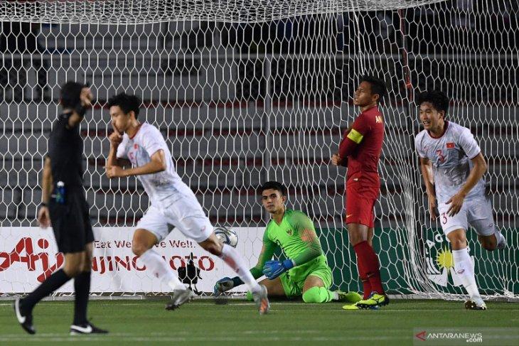 Tim U-22 Indonesia harus puas medali perak