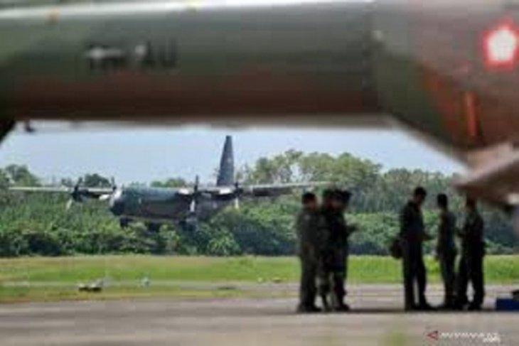 TNI kerahkan Hercules  ke Shanghai angkut alkes COVID-19