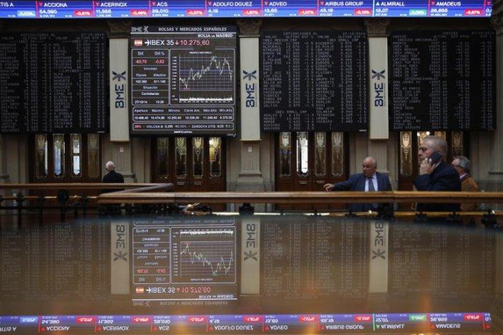 Saham Spanyol kembali jatuh, indeks IBEX 35 menjadi 1,70 persen