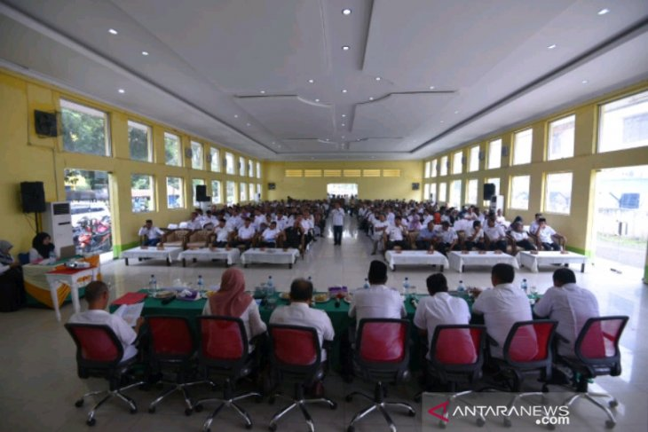 Wakil Wali Kota Padangsidimpuan buka rapat koordinasi OPD