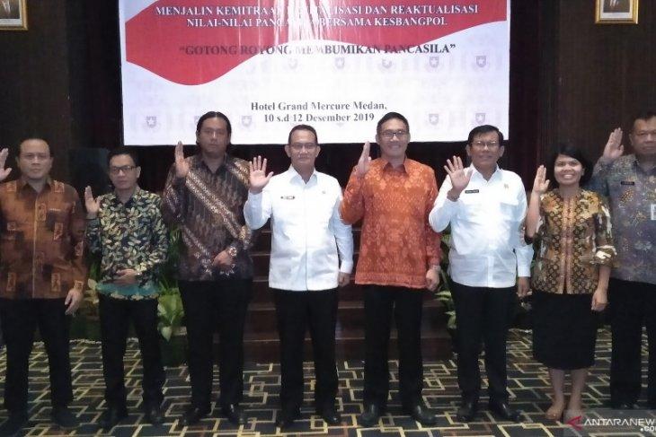 Untuk cegah radikalisme, BPIP harapkan Kesbangpol laksanakan Pancasila
