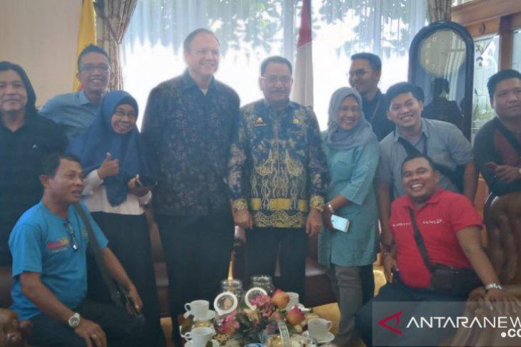 Perwakilan Kedubes AS menilai demokrasi Indonesia baik