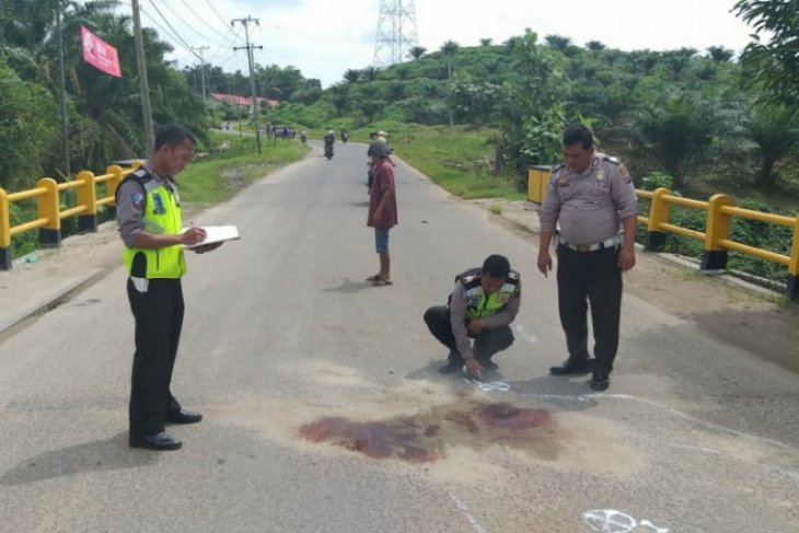 Seorang guru tewas kecelakaan di Tanah Jawa Simalungun