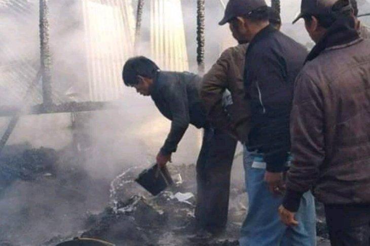 Rumah terbakar di Humbahas, Polisi: Dua korban meninggal, dua luka