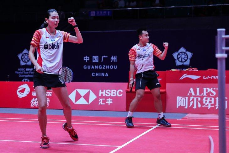 Hafiz/Gloria tantang Zheng/Huang di penyisihan BWF World Tour Finals 2019