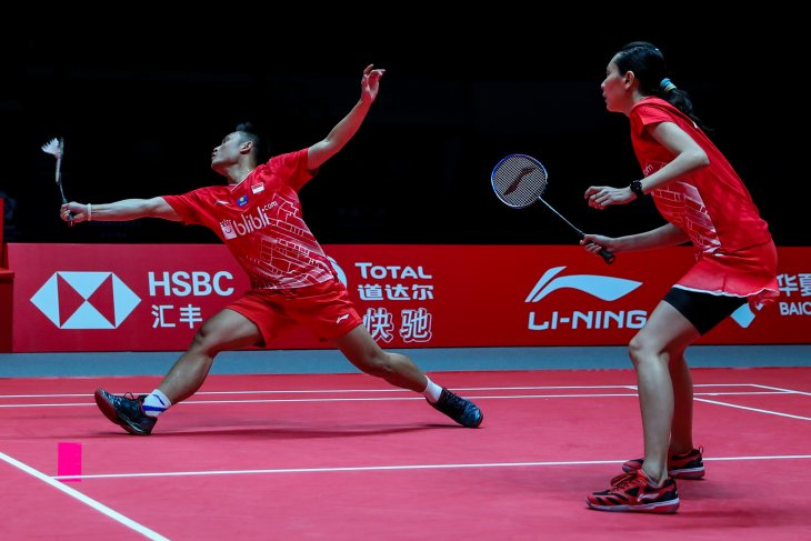 Hafiz/Gloria gagal raih tiket semifinal BWF World Tour