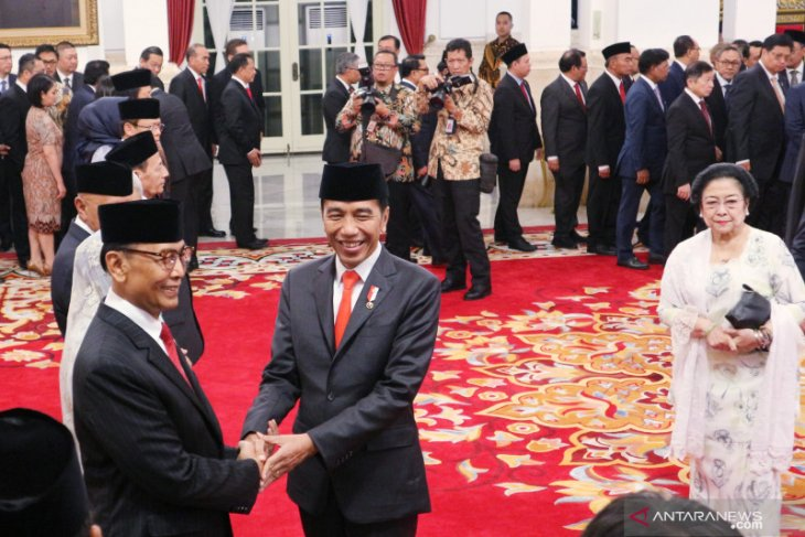 Wiranto jabat sebagai Ketua Wantimpres