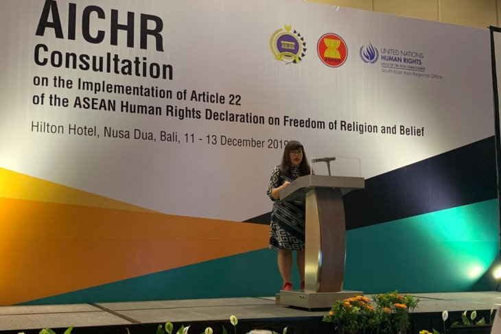 Right to freedom of religion becomes human beings' fundamental right