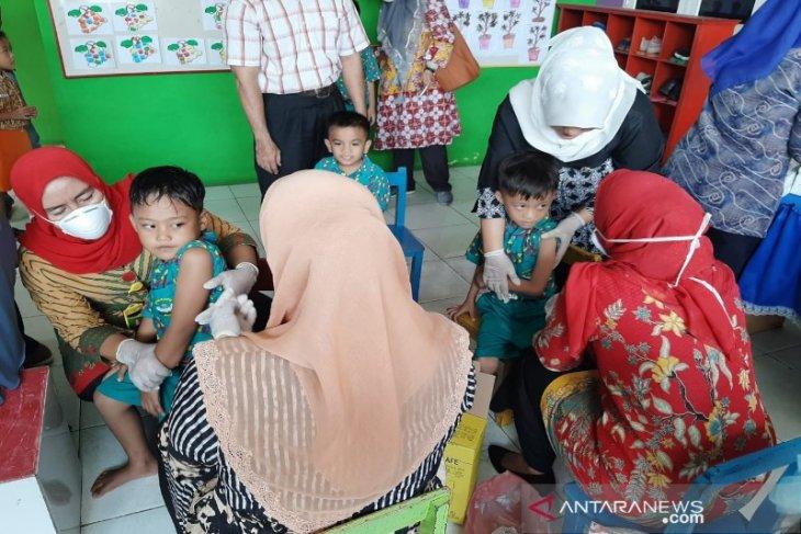 Antisipasi penularan difteri, Dinas Kesehatan lakukan vaksinasi