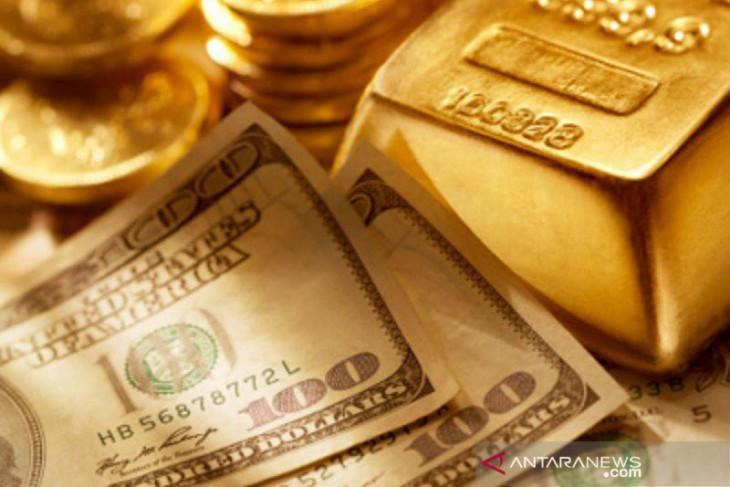 Emas jatuh 20,6 dolar karena aksi ambil untung setelah data AS positif