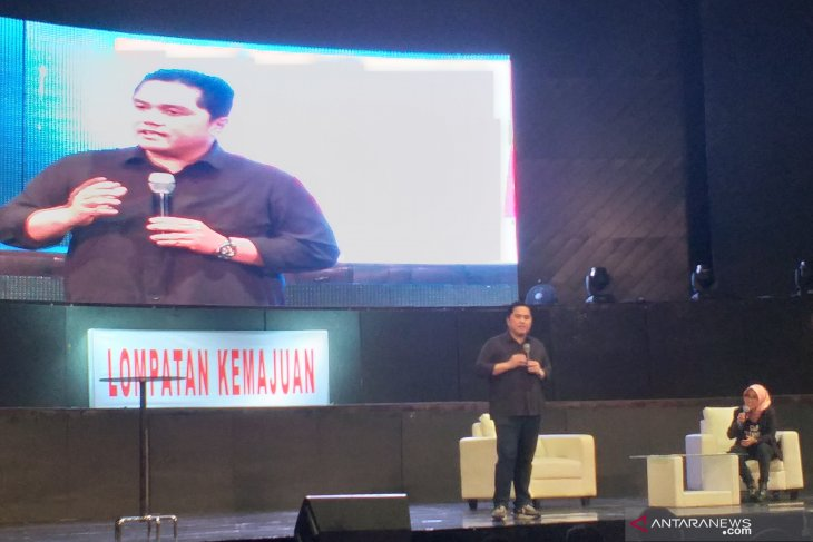 Erick Thohir keen to witness talented young Indonesians lead SOEs