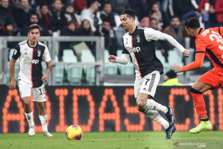 Juve rebut puncak klasemen sementara Liga Italia