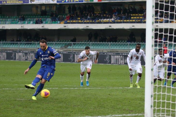 Liga Italia, Verona bangkit dari kemasukan tiga gol untuk tahan imbang Torino 3-3