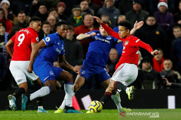 Liga Inggris: Greenwood selamatkan MU dari Kekalahan kontra Everton