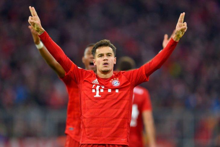 Hattrick Coutinho bawa Muenchen kalahkan Bremen