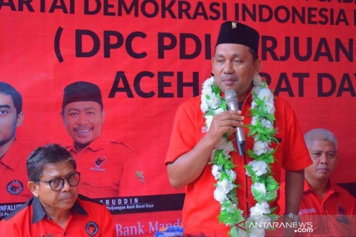 PDI Perjuangan Aceh harus bangkit dari keterpurukan