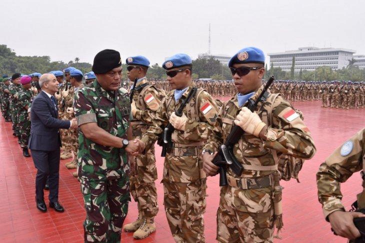 Kasum TNI lepas 1.234 diplomat militer ke daerah misi PBB di Lebanon