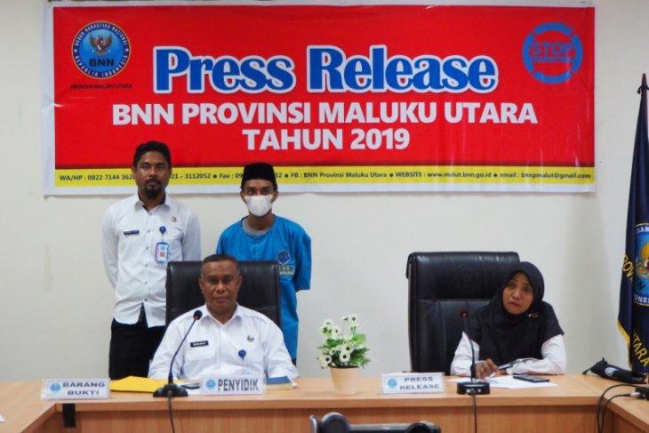 BNNP Malut-BNNK Tidore tangkap buronan napi narkoba Lapas Sorong
