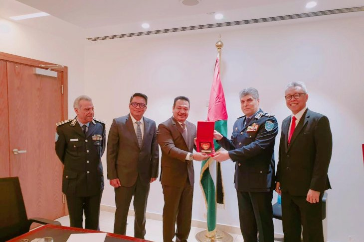 Indonesia, Palestine Police to tackle transnational crimes together