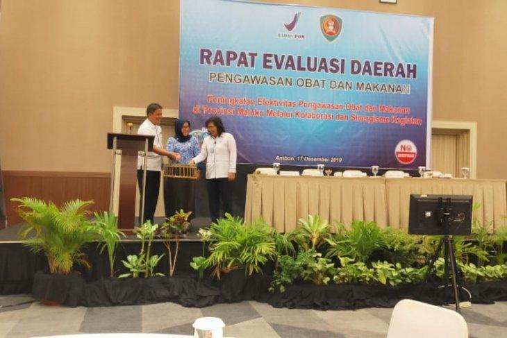 Indeks pengawasan obat dan makanan di Maluku baru capai 737 pesen