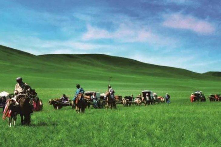 Four seasons in north China's Xilingol League
