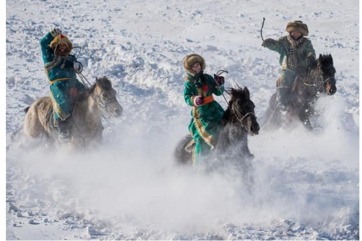 Meet north China's Xilingol League in colorful, passionate winter