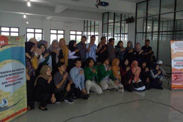 KPU Medan-UMN Al Washliyah kerjasama sosialisasi Rumah Pintar  Pemilu