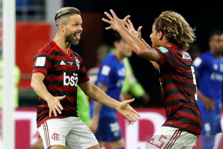 Flamengo lolos final Piala Dunia Antarklub 2019