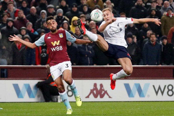 Piala Liga, Aston Villa kalahkan Liverpool