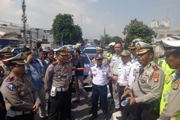 Ditlantas  Polda Metro Jaya ungkap 28 titik rawan kecelakaan di Jakarta dan sekitarnya