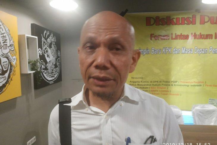 Agus Rahardjo dkk hadirkan 2 akademisi hukum sebagai ahli, sidang uji formil revisi UU KPK
