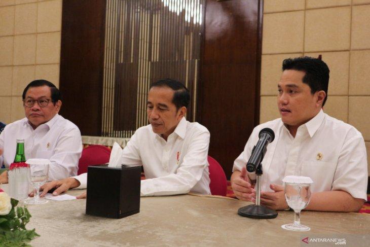 Jokowi sebut masalah Jiwasraya sudah lebih dari 10 tahun