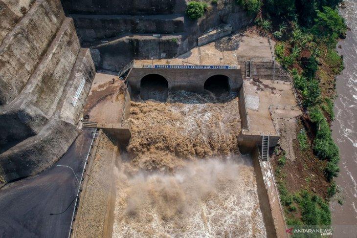 Presiden resmikan Terowongan Nanjung untuk pengendali banjir di Bandung