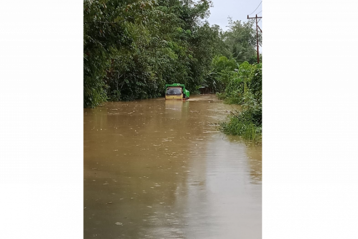 BPBD : Banjir di Belikai Kapuas Hulu mulai surut