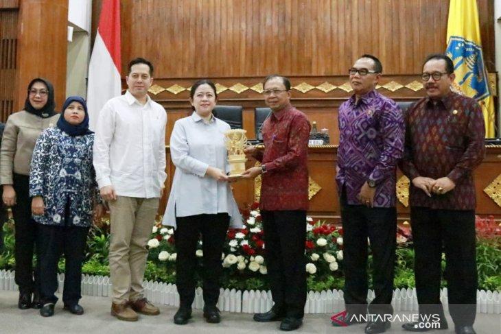 Koster minta dukungan ketua DPR soal pembahasan RUU Propinsi Bali