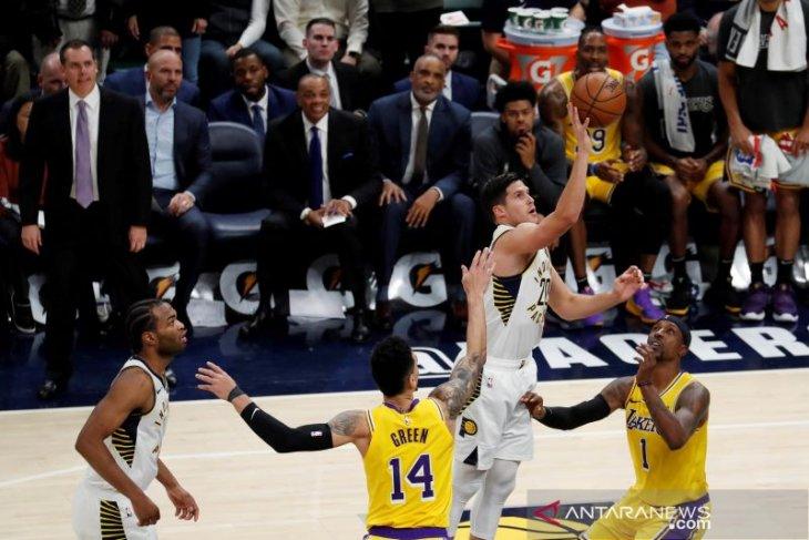 Pacers akhiri 14 kemenangan tandang beruntun Lakers