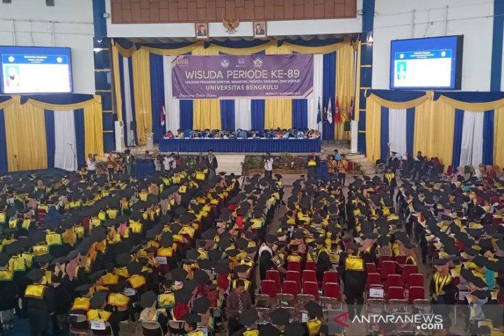 Universitas Bengkulu lepas 1.026 orang wisudawan